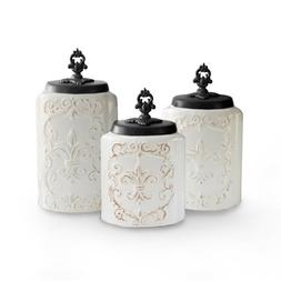 Jay Import 1182139-RB American Atelier Antique Canisters - W