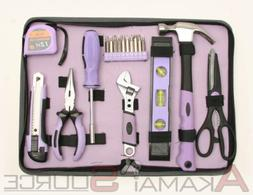 18pc Ladies Home Tool Set for Women DIY Tools Perfect Gift S