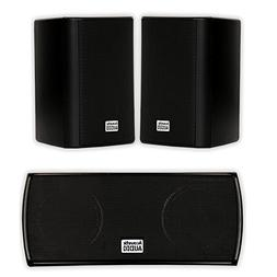 Acoustic Audio AA351B and AA32CB Mountable Indoor Speakers H