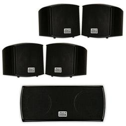 Acoustic Audio AA321B and AA32CB Mountable Indoor Speakers H