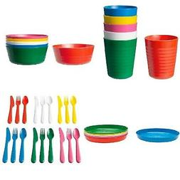 IKEA Childrens Eating Ware Colorful BPA Free Kids Dining Par