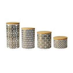 American Atelier 4 Piece Kitchen Canister Set