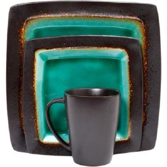 32 Service for Mugs Turquoise