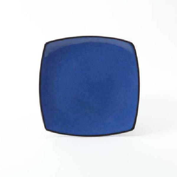 Dinnerware Square Dinner Plates Dishes Home Blue