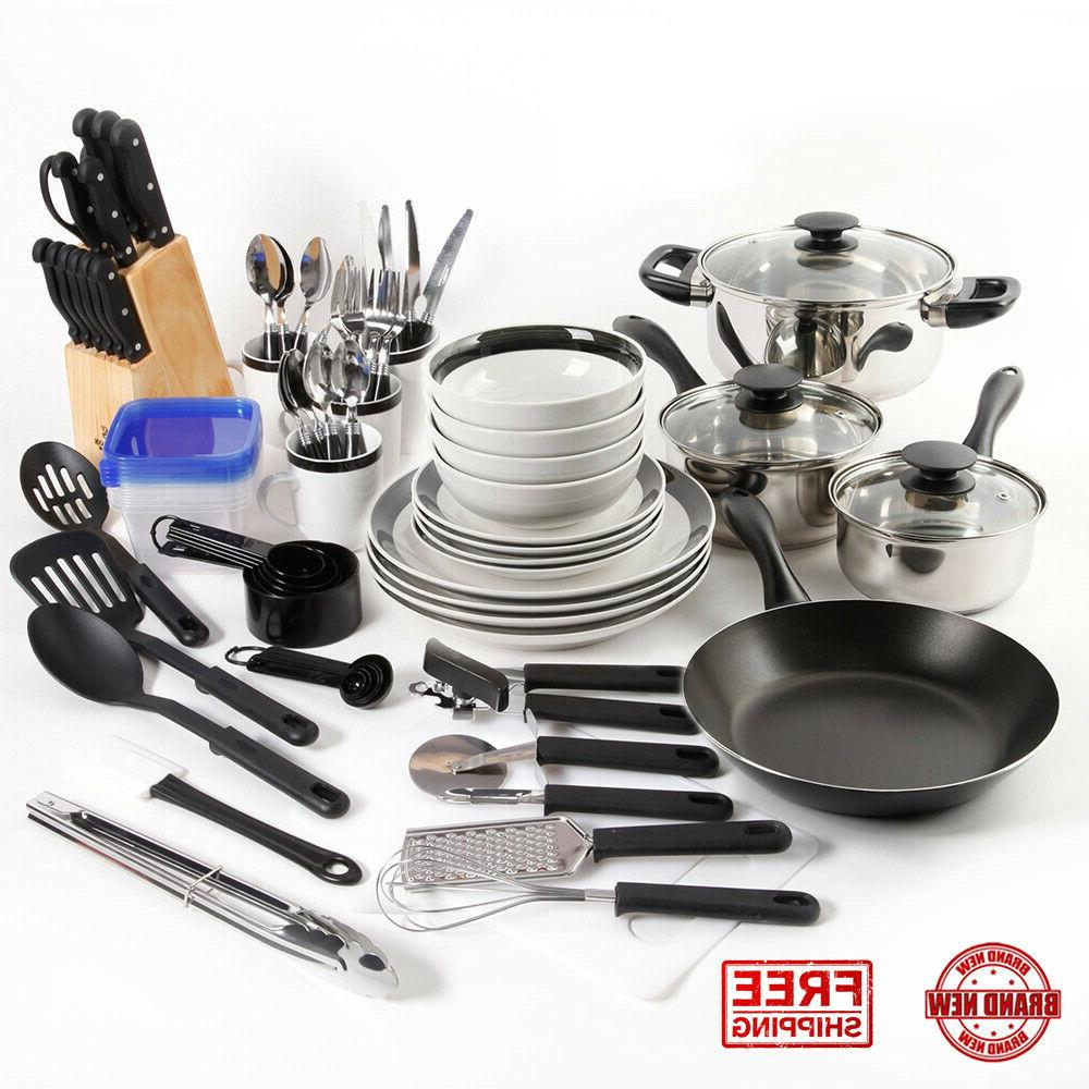 essential total kitchen 83 piece combo set