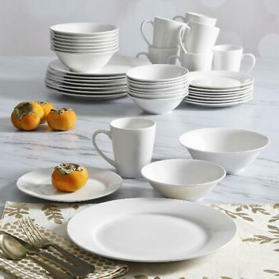 everyday round 40 piece expanded dinnerware set