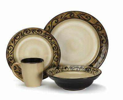 stoneware isere collection dinnerware sets