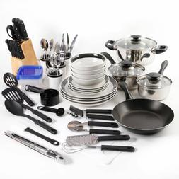 stainless steel mega cookware set