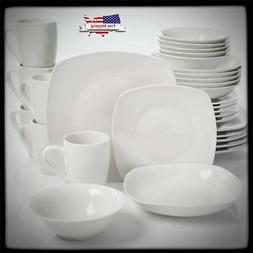 Gibson Tableware Dinner Plates Home Liberty Hill 30 Piece Di